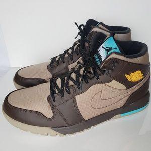 Nike Air Jordan 1 Trek Khaki/VarsityMaize/Baroque
